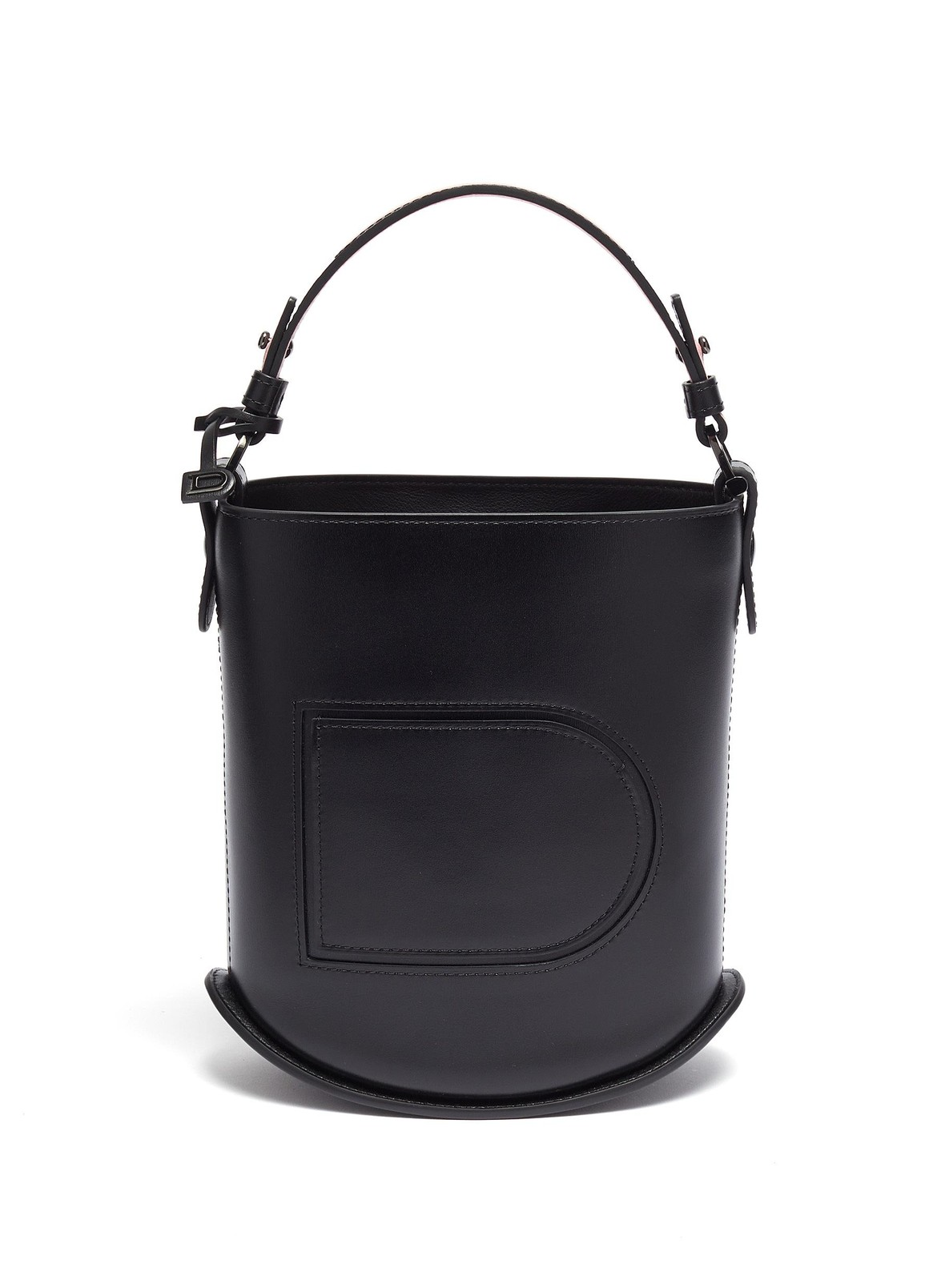 DELVAUX 'PIN MINI' LEATHER BUCKET BAGHK$19,600 from lane crawford