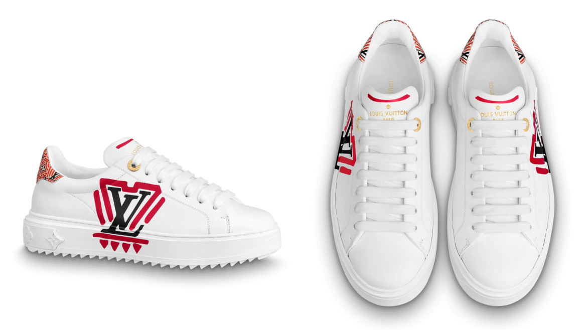 LOUIS VUITTON LV Crafty Time Out Sneakers HK$8,100