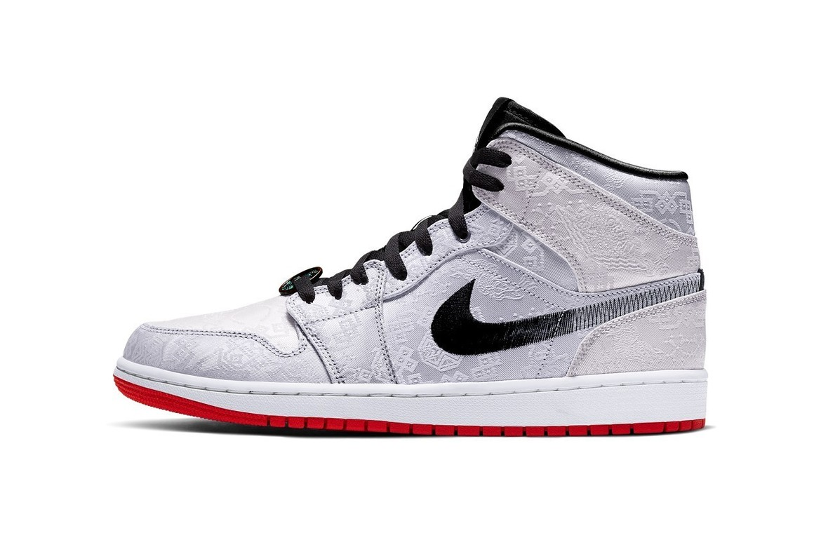 Nike x CLOT Air Jordan 1 Mid Fearless USD140 (約HK$1,096)