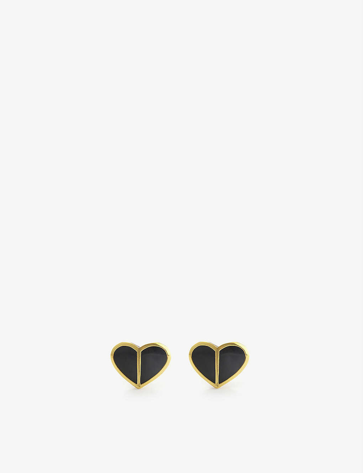 KATE SPADE NEW YORK Heritage Spade Heart stud earrings HK$375