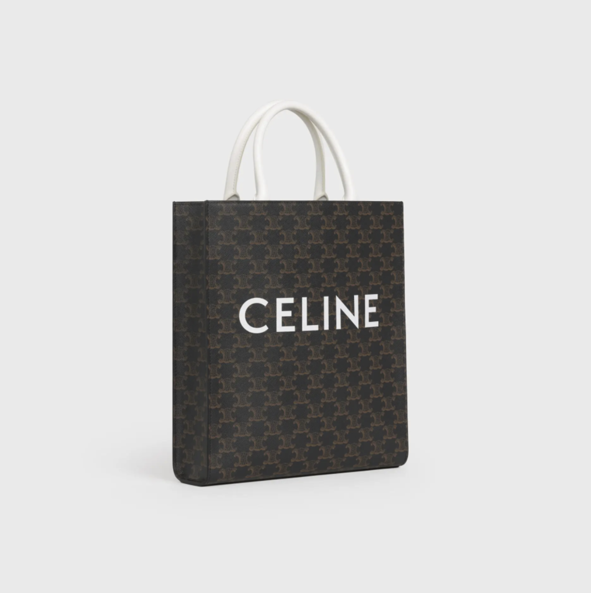 CELINE Small Vertical Cabas in Triomphere Canvas HK$11,000