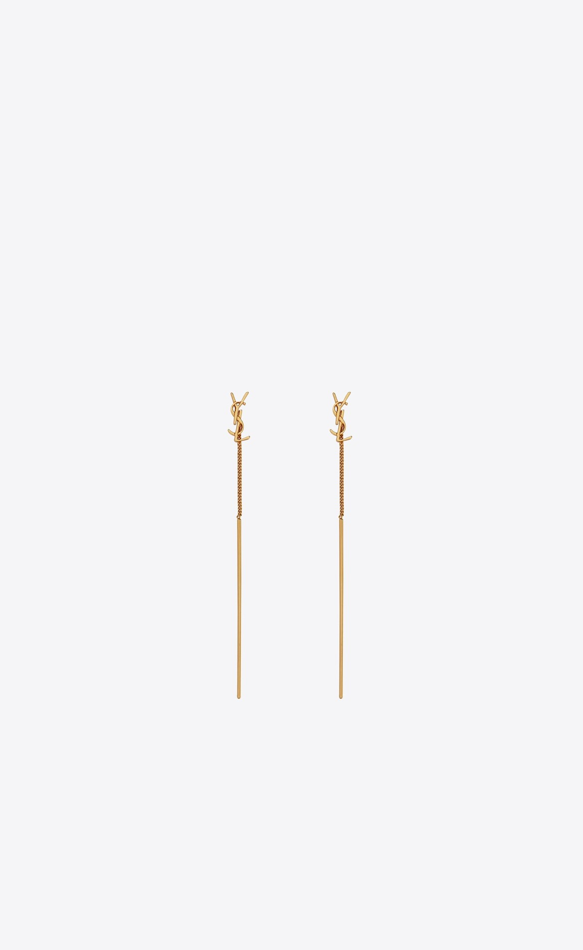 Opyum YSL Threader Earrings in Metal HK$2,750