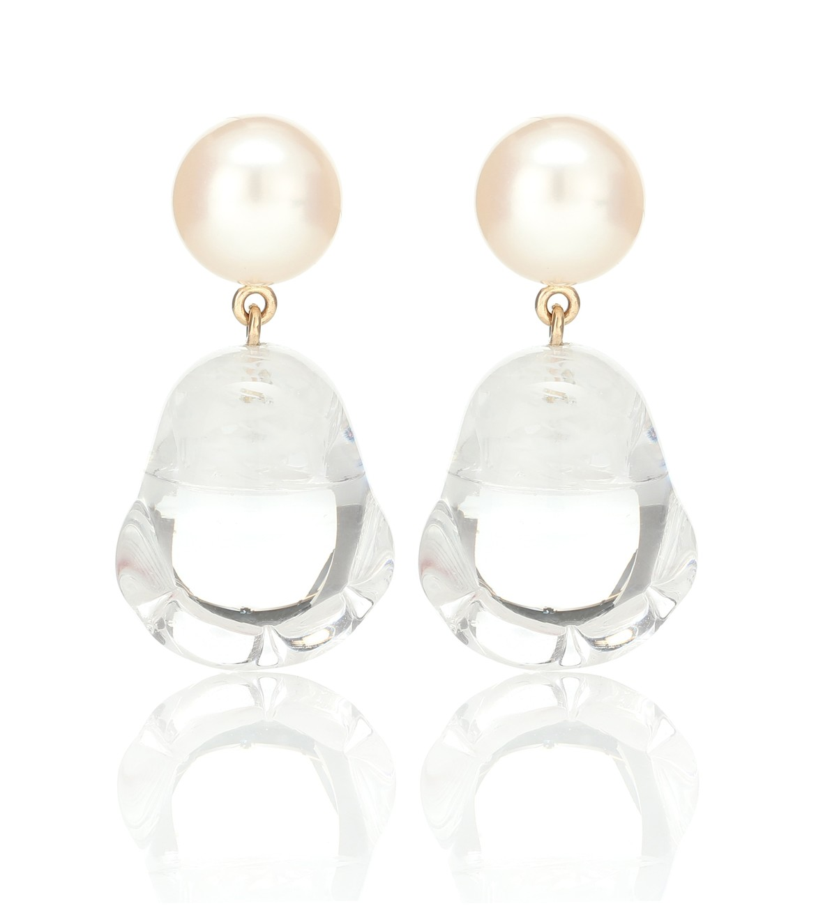 SOPHIE BILLE BRAHE Venus Vere pearl earrings HK$6,880  from mytheresa