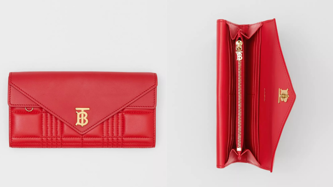 Monogram Motif Quilted Continental Wallet HK$5,600