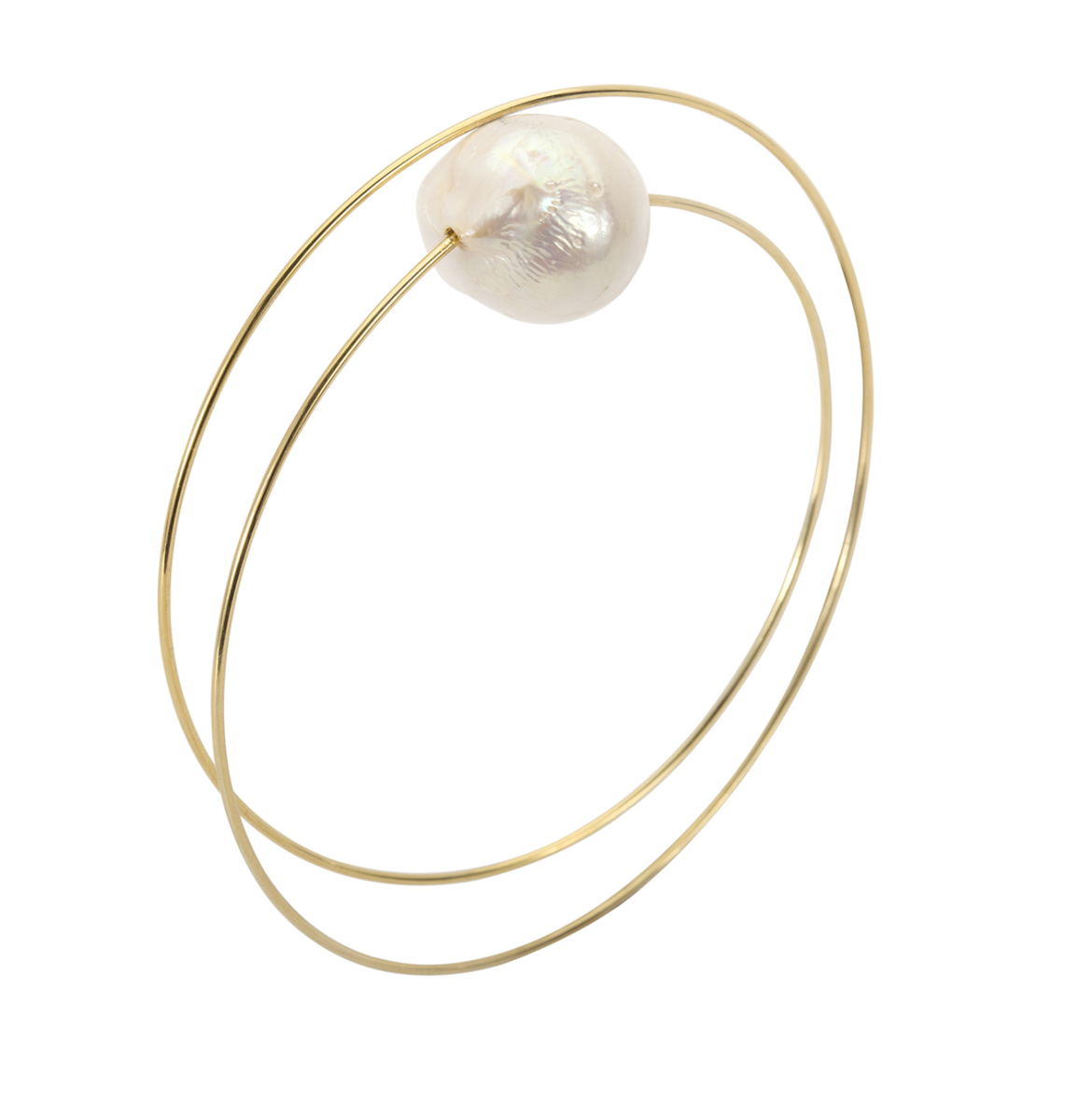 MELISSA MCATHUR Circle Wrap Bangle