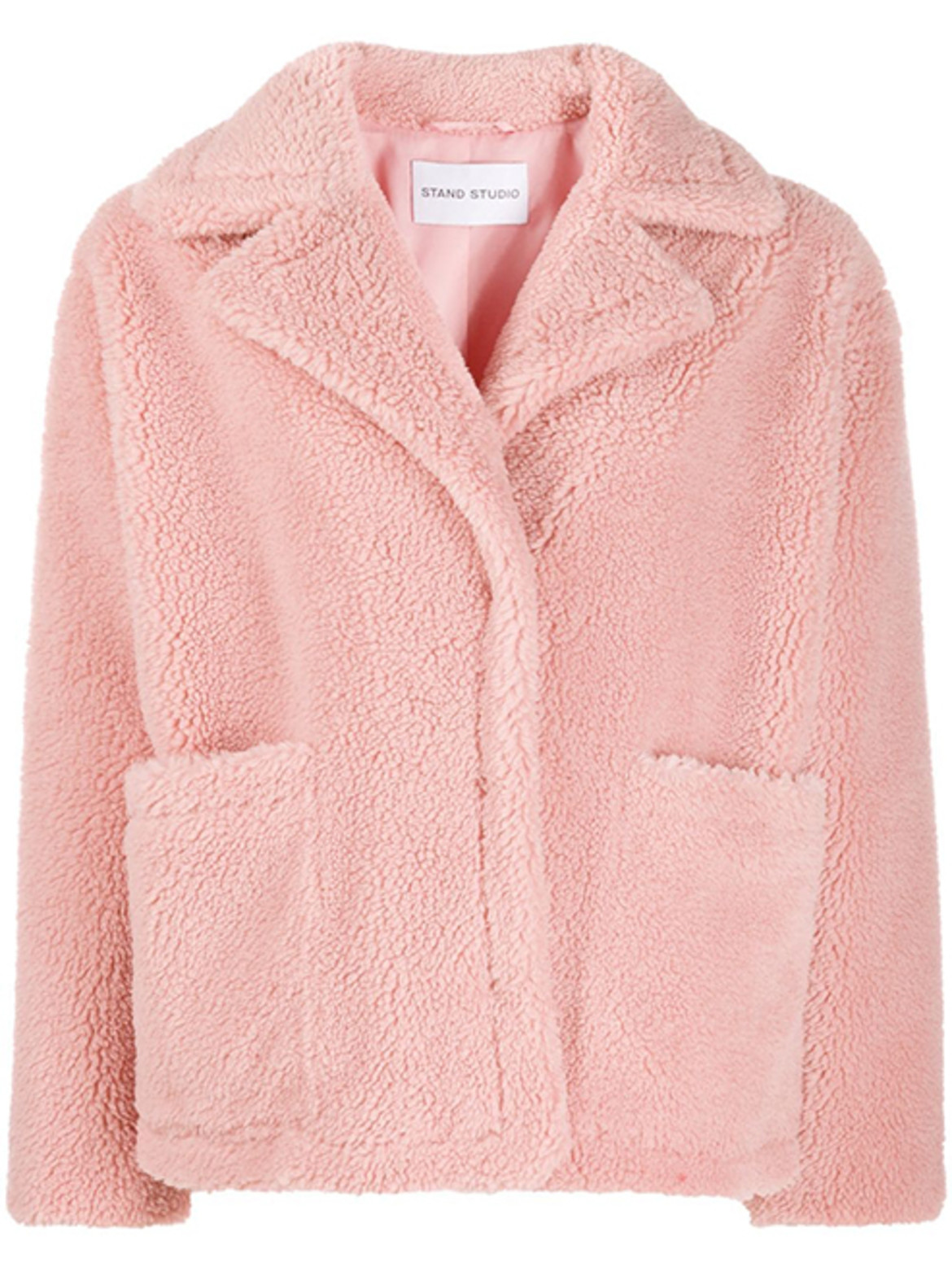 STAND STUDIO concealed fastening jacket HK$2,253 from Farfetch