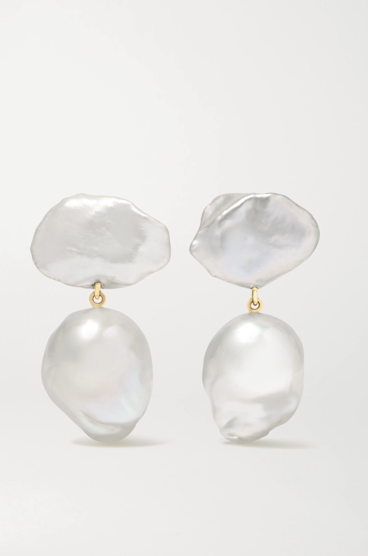 SOPHIE BILLE BRAHE Sirene Venus 14-karat gold pearl earrings  HK$7,060 from net-a-porter