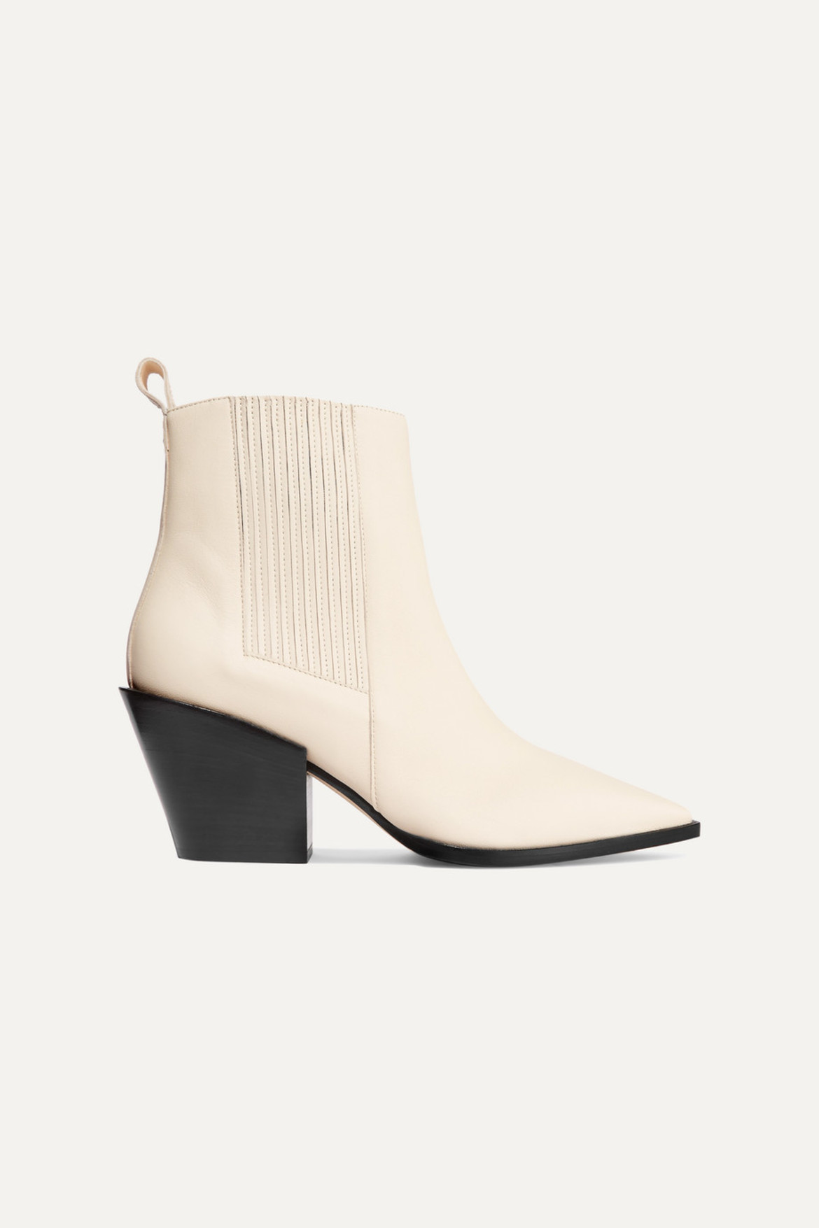 AEYDĒ Kate leather ankle boots HK$2,480 from Net-A-Porter