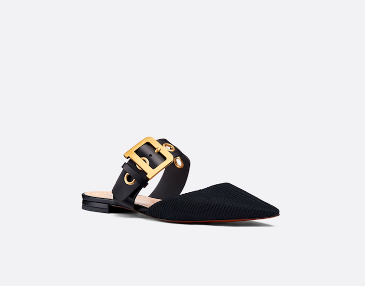 Dior D-Dior Technical Cancas Mules HKD8,100