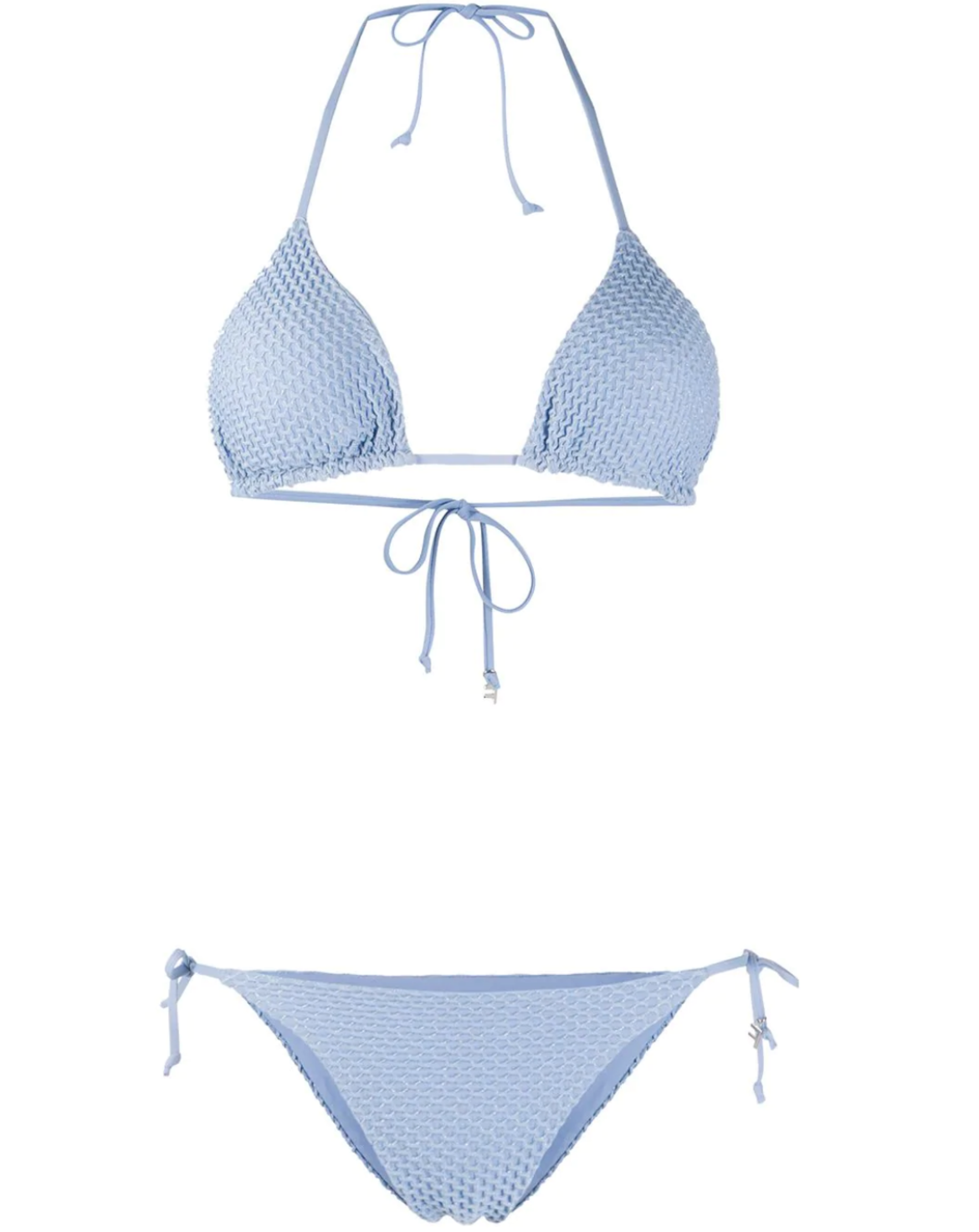 FISICO textured knit halterneck bikini HK$1,545 from farfetch