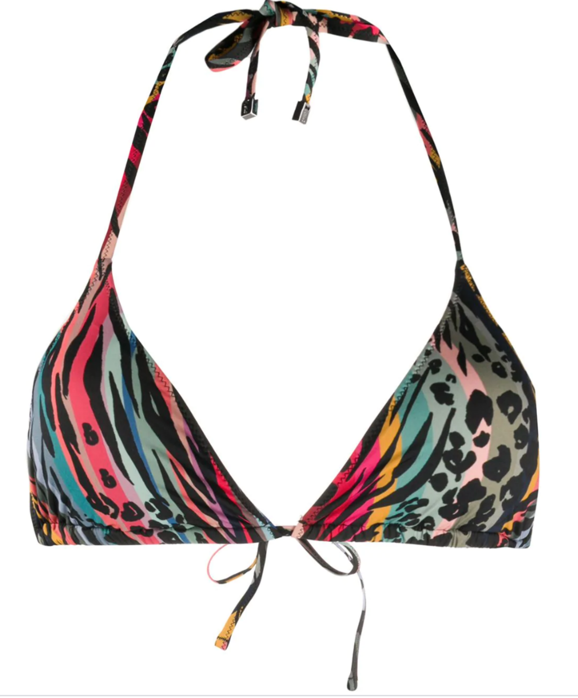PAUL SMITH animal-print triangle bikini top HK$790 from farfetch