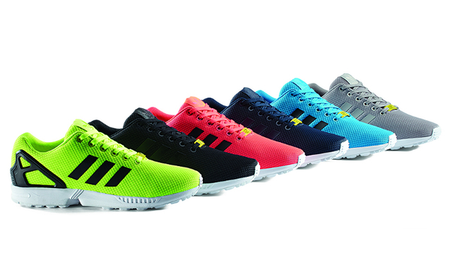 ZX Flux Base Pack系列球鞋。翻攝網路