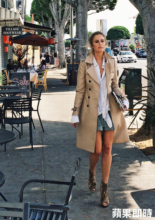 Jessica May Underwood─Burberry Art of the Trench Los Angeles。品牌提供
