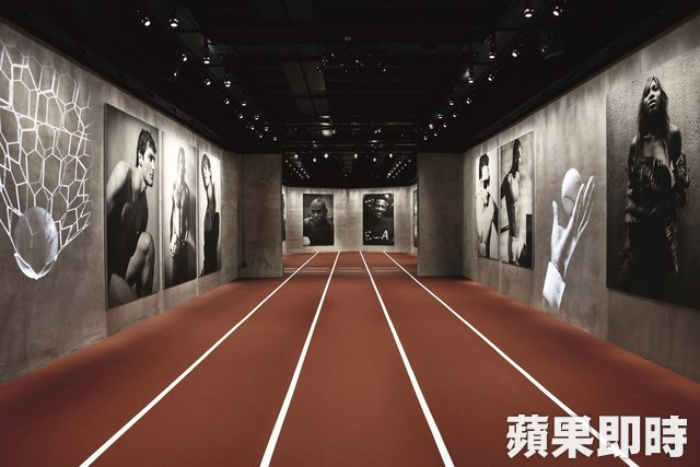 「Emotions of the Athletic Body」展覽。品牌提供