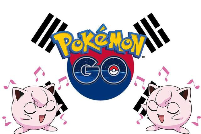 Pokemon GO在南韓開放了。取自Pokemon:GO Taiwan臉書
