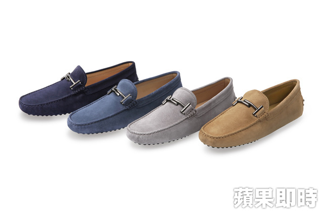TOD'S Double T男款豆豆鞋,2萬2300元。