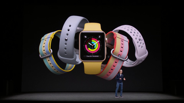 Apple Watch Series 3。翻攝自官網