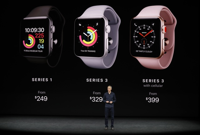 新款Apple Watch。 路透