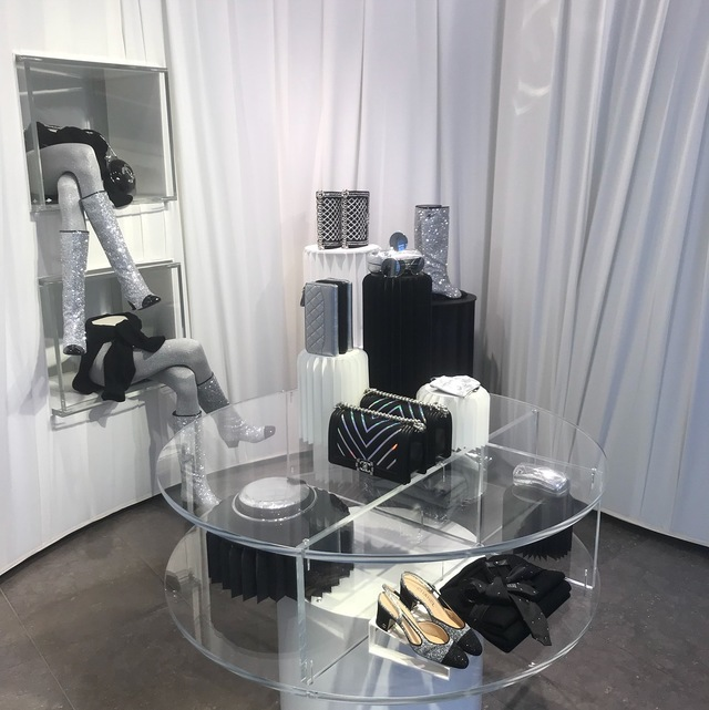 CHANEL at colette內部裝置陳列。翻攝IG