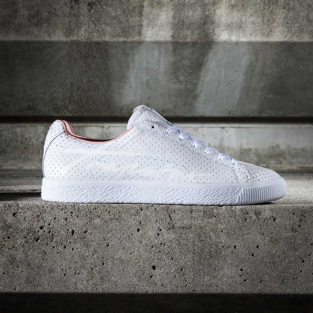 PUMA X Trapstar Clyde Perforated鞋款,4380元。品牌提供