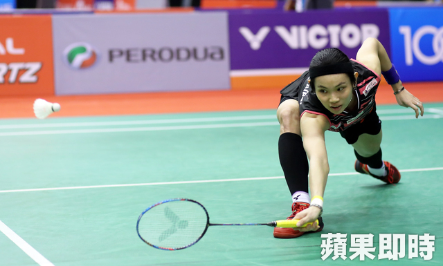 戴資穎。Badminton Photo