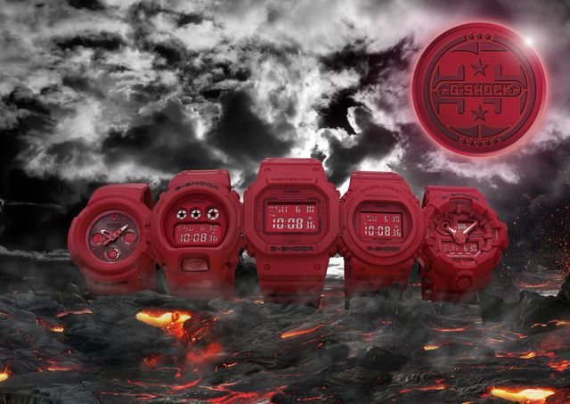 G-SHOCK 35RED-OUT3900