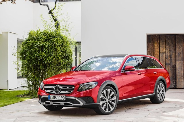 Mercedes-Benz E-Class Estate All-Terrain。業者提供