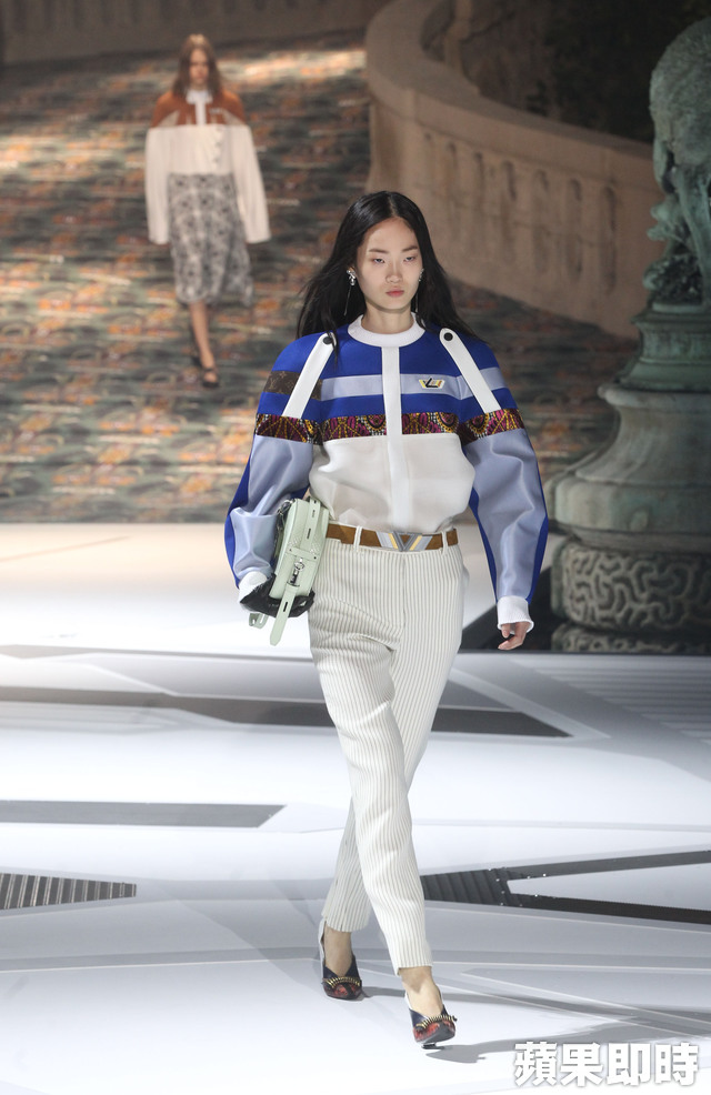Louis Vuitton 2018 FW。張桓誠攝