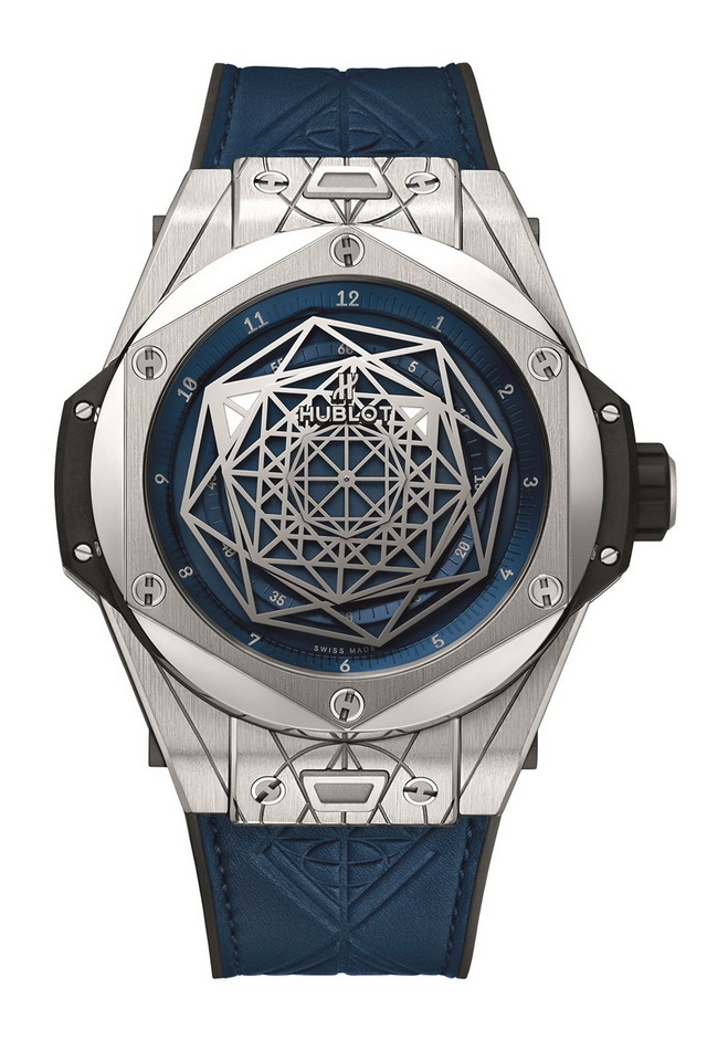 HUBLOT Big Bang Unico Sang Bleu 586000