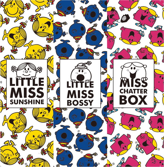 Keds X LITTLE MISS系列以樂觀小姐LITTLE MISS SUNSHINE、嘮叨小姐LITTLE MISS CHATTERBOX與霸道小姐LITTLE MISS BOSSY為主要圖樣。品牌提供
