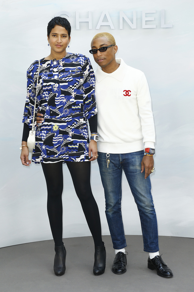 Pharrell WilliamsHelen LASICHANH