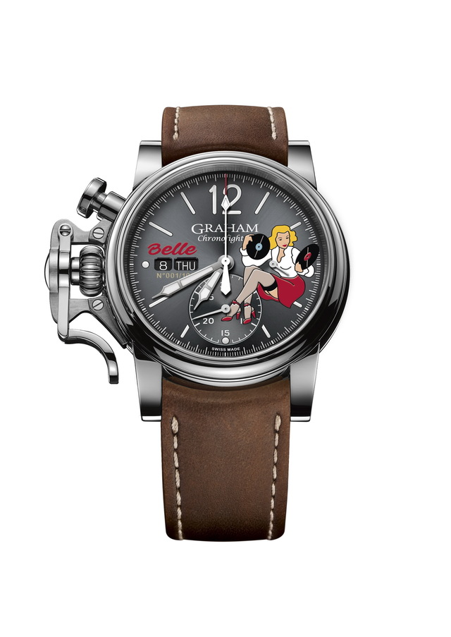 GRAHAM Chronofighter Vintage Nose Art100208000