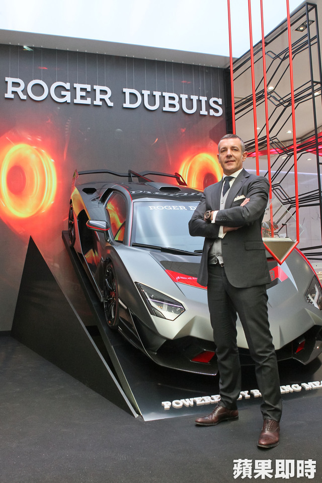 Roger Dubuis CEO Nicola AndreattaExcalibur One-Off