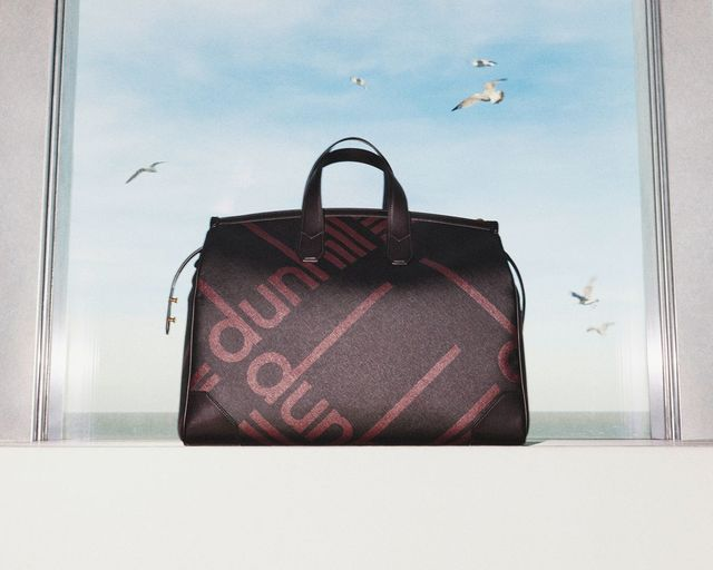 dunhill Longtail Luggage Canvas