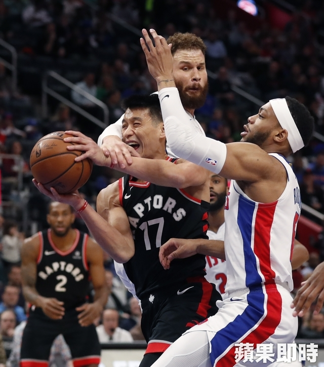 The Taiwanese star Jeremy Lin started the second game in the second game (Kyle Lowry), but his performance was not satisfactory. He played only 16 minutes and 39 seconds and made 1 out of 4 shots. He scored only 3 points and scored 3 points. 2 rebounds, 3 assists. Associated Press