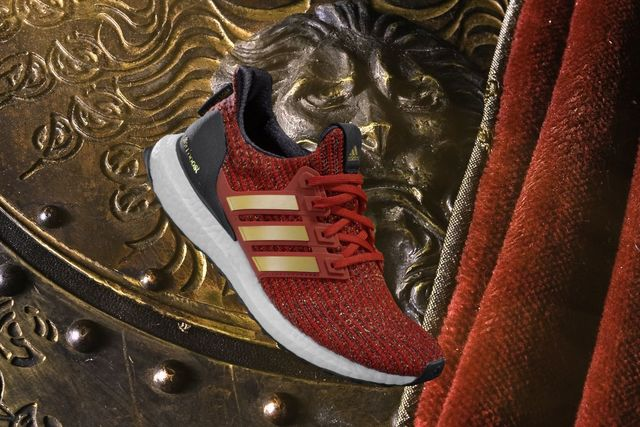 adidas x Game of Thrones之House Lannister Ultraboost,定價5990元。品牌提供