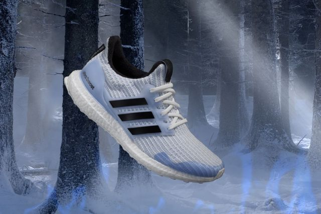 adidas x Game of Thrones之White Walker Ultraboost,定價5990元。品牌提供