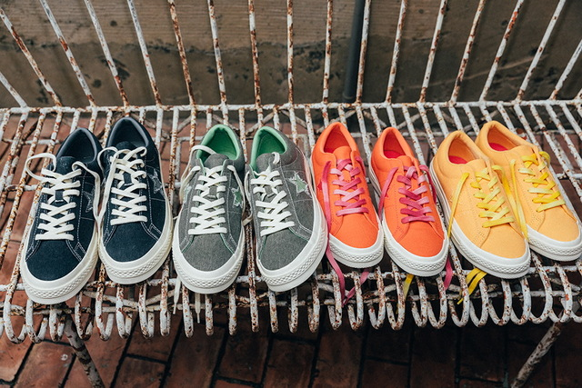 Converse One Star Sunbaked鞋款,2680元。品牌提供