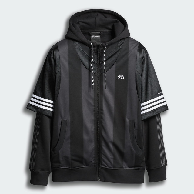 adidas Originals x Alexander Wang連帽外套,1萬3800元。品牌提供