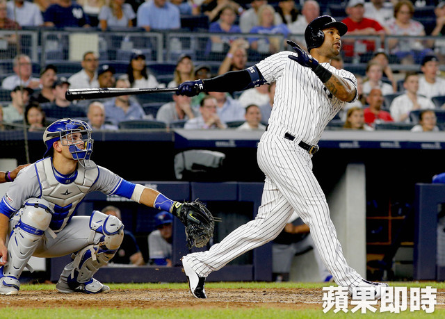 Aaron Hicks。路透