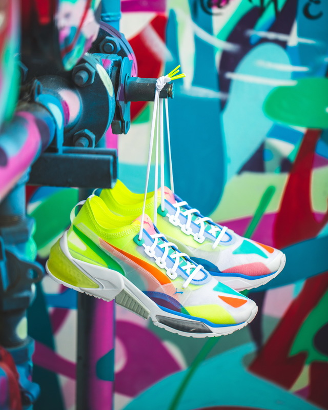 PUMA LQDCELL OPTIC Sheer新鞋,3980元。品牌提供