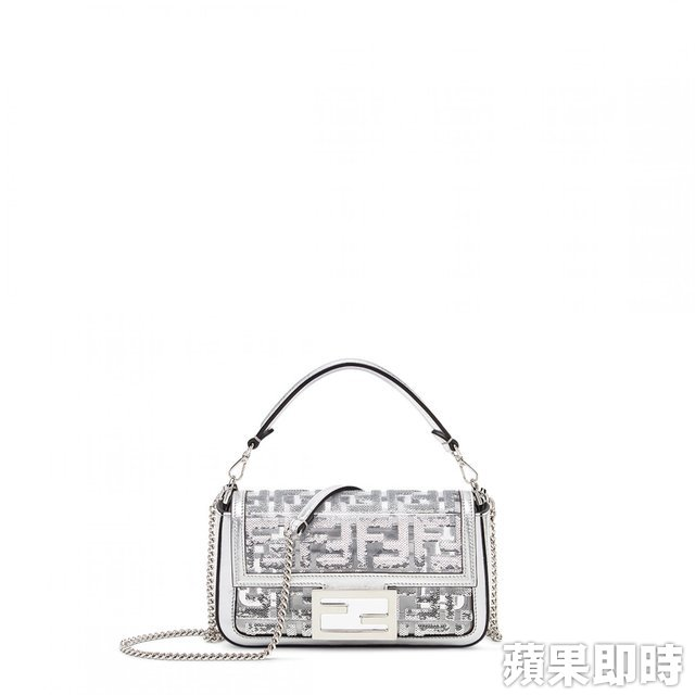 FENDI Prints On  FF Logo Mini Baguette81000