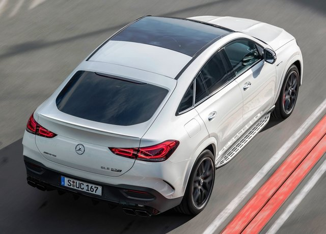 Mercedes-AMG  GLE63 S Coupe 4MATIC+。原廠提供