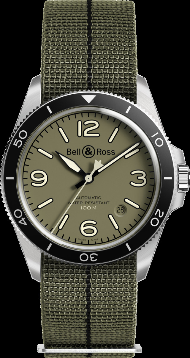 BellRoss BR V2-92 Military Green93700