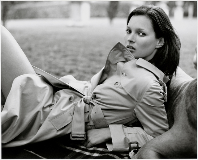 Kate Moss1990BURBERRY