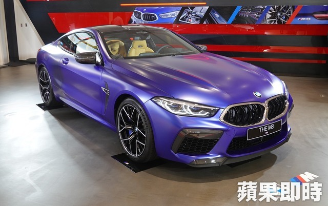 BMW M8 Coupe Racing Package。吳凌祺攝