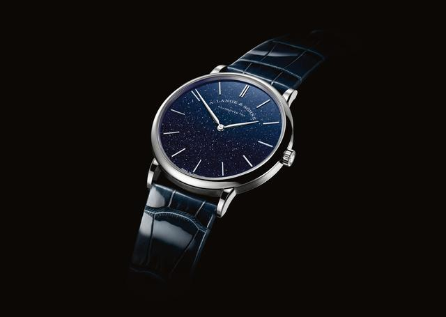 Saxonia Thin Aventurine Blue39mm 18KL093176