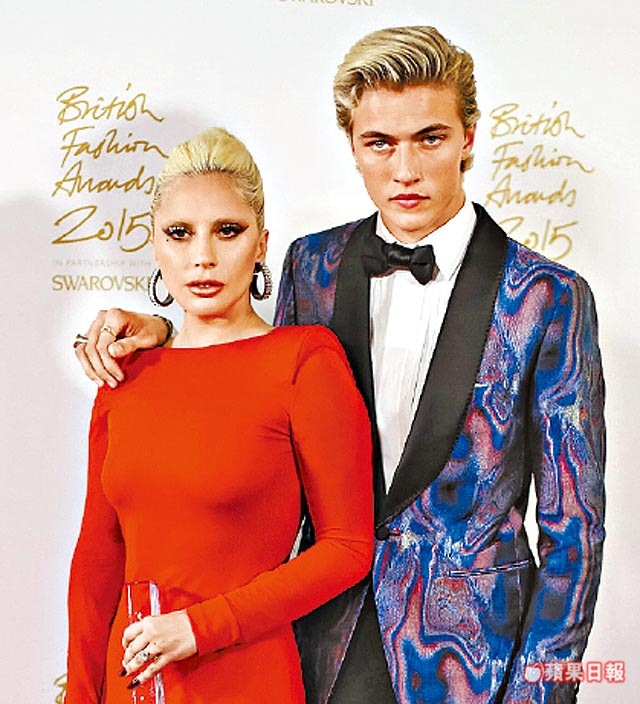 Lady GagaTom FordLucky Blue Smith