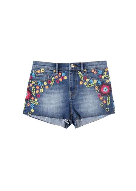 EMBELLISHED HIGH RISE SHORT BLUE 4003 TWD9500。
