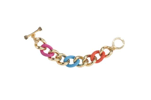 COLOR ME IN COUTURE CHAIN BRACELET GOLD 7018 TWD6900。